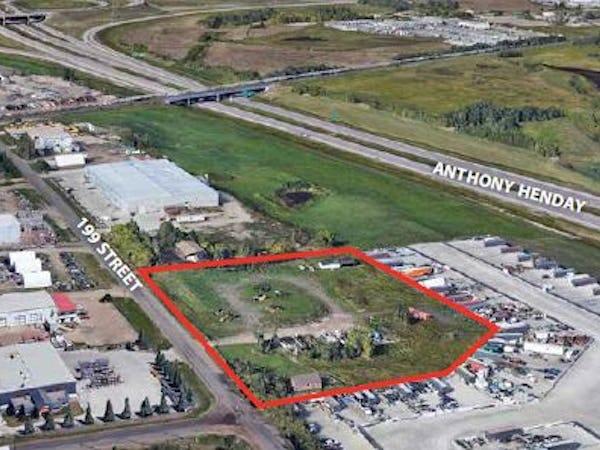 4.70 acres of industrial land in Winterburn, Alberta