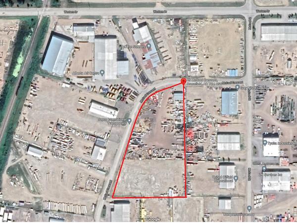 Crossfield Yard Space