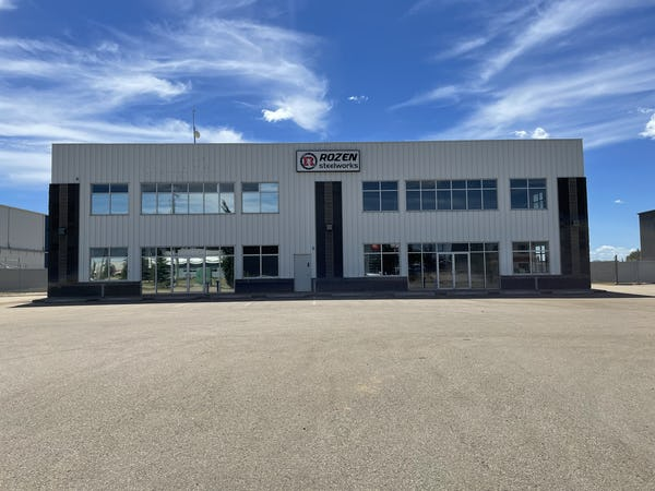 Industrial building and yard available in Spruce Grove